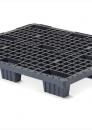 Plastic nestable export pallet 1200x1000mm