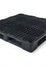 Plastic reusable heavy duty pallet 1200x1200mm with 3 or 6-runners
