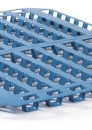 Freezers spacers 1200x800mm and 1200x1000mm in blue and black