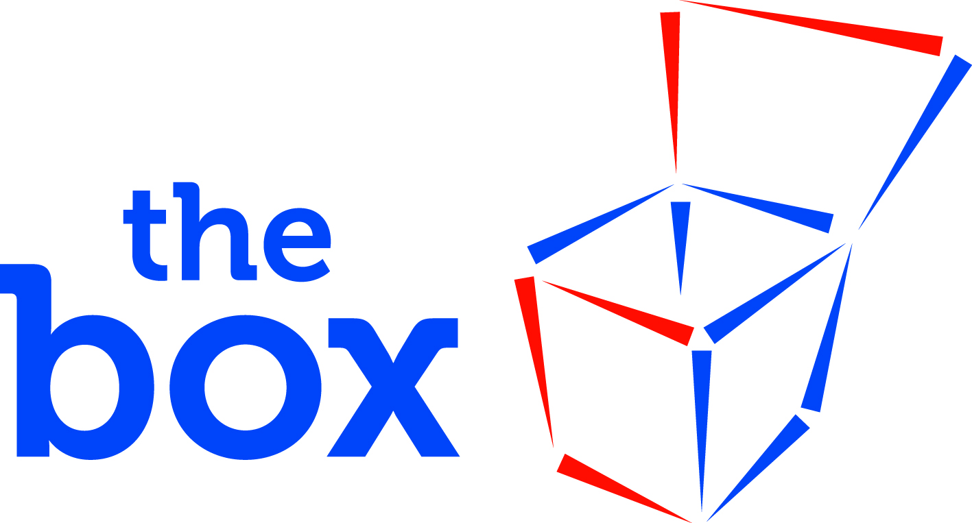 Logo The Box b.v. Tin packaging specialists