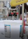 Vollautomatisierte Eimerline - Robotereinsatz